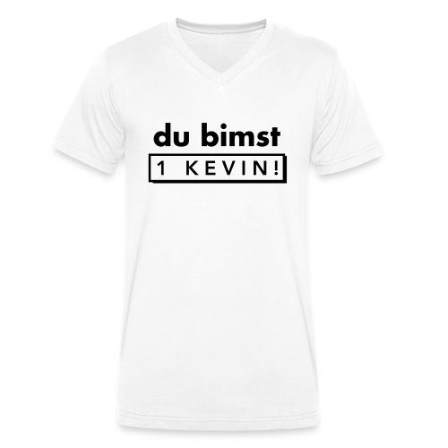 du bimst 1 Kevin - Männer Bio-T-Shirt mit V-Ausschnitt von Stanley & Stella