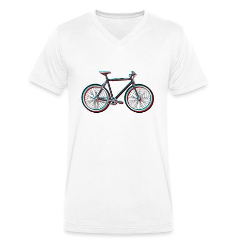 Single-Speeder - Männer Bio-T-Shirt mit V-Ausschnitt von Stanley & Stella