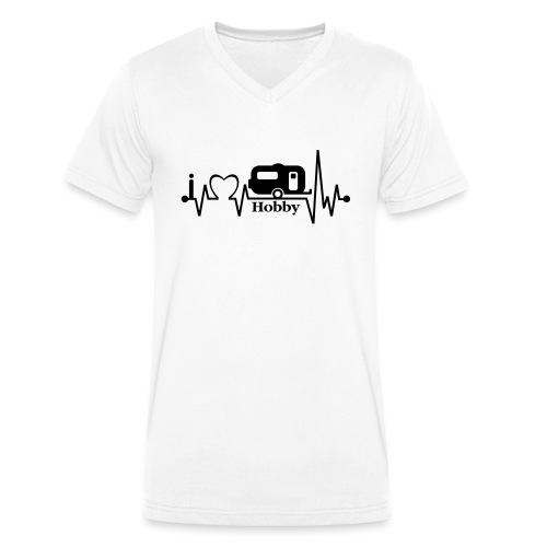 Puls - Männer Bio-T-Shirt mit V-Ausschnitt von Stanley & Stella