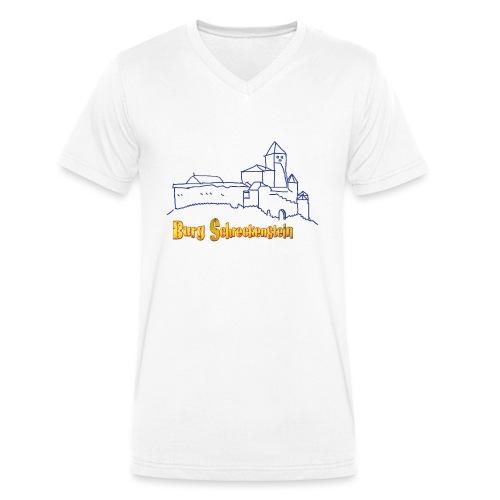 Kinder Kapuzenpullover - Burg Schreckenstein - Männer Bio-T-Shirt mit V-Ausschnitt von Stanley & Stella