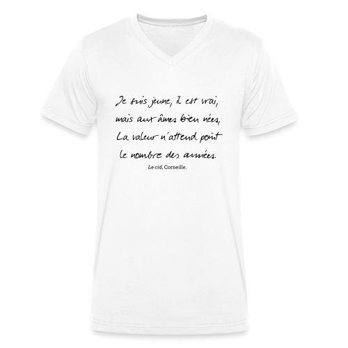 Le cid - Je suis jeune - T-shirt bio col V Stanley & Stella Homme