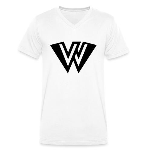LVSTCVLL Icon - Økologisk T-skjorte med V-hals for menn fra Stanley & Stella