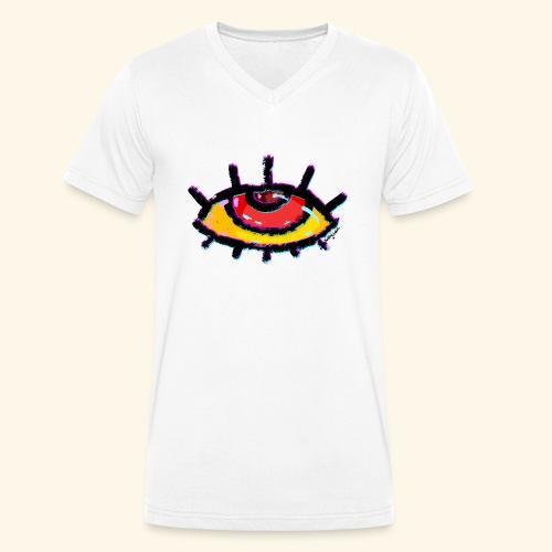 Eye See the Future - Men's Organic V-Neck T-Shirt by Stanley & Stella