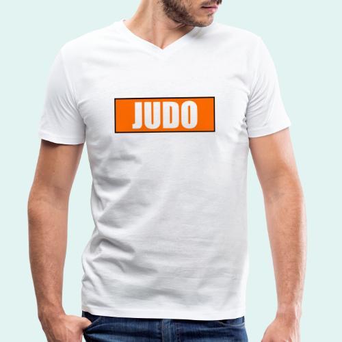 Judo Orange 5. Kyu - Männer Bio-T-Shirt mit V-Ausschnitt von Stanley & Stella