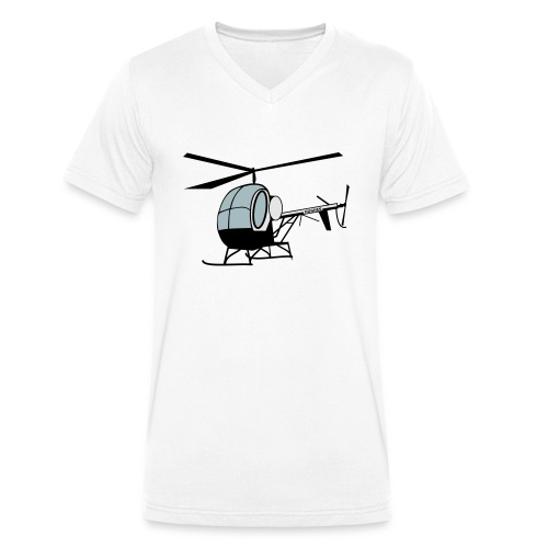 Hughes 300 - Männer Bio-T-Shirt mit V-Ausschnitt von Stanley & Stella
