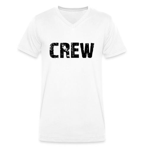 Crew - Männer Bio-T-Shirt mit V-Ausschnitt von Stanley & Stella