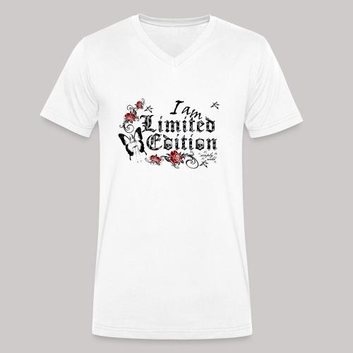 simply wild limited Edition on white - Männer Bio-T-Shirt mit V-Ausschnitt von Stanley & Stella