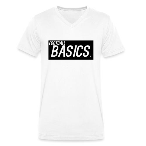 BLACK_AND_WHITE - Men's Organic V-Neck T-Shirt by Stanley & Stella