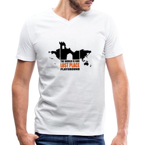 Lost Place - 2colors - 2011 - Männer Bio-T-Shirt mit V-Ausschnitt von Stanley & Stella
