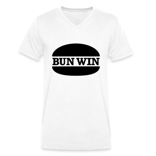 bunwinblack - Men's Organic V-Neck T-Shirt by Stanley & Stella