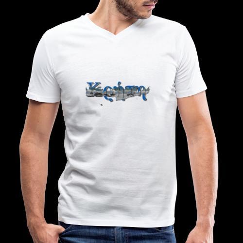 kreta strand - Männer Bio-T-Shirt mit V-Ausschnitt von Stanley & Stella