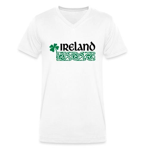 Ireland - Mannen bio T-shirt met V-hals van Stanley & Stella
