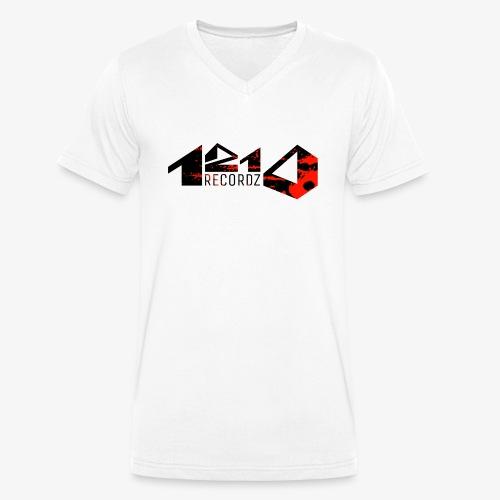 1210 Recordz Kaputzenpullover - Männer Bio-T-Shirt mit V-Ausschnitt von Stanley & Stella