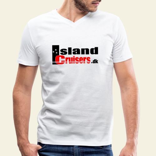 Island cruisers black - Økologisk Stanley & Stella T-shirt med V-udskæring til herrer