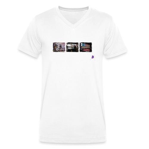 new york color ohne kontu - Männer Bio-T-Shirt mit V-Ausschnitt von Stanley & Stella