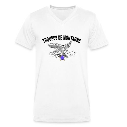 choucasTDM dos - T-shirt bio col V Stanley & Stella Homme
