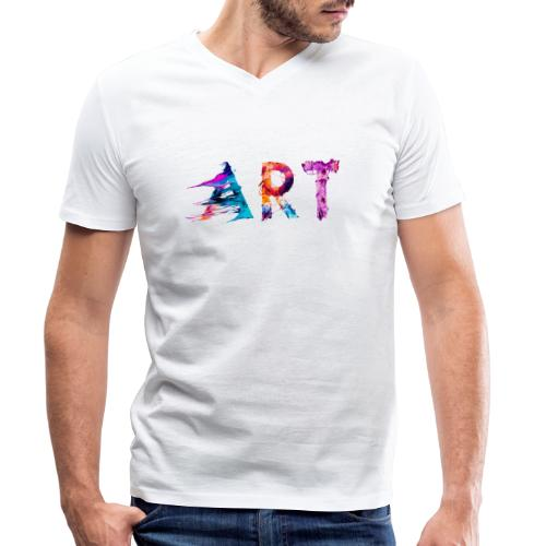 Art - T-shirt bio col V Stanley & Stella Homme