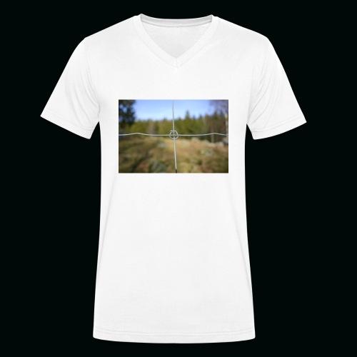Stängsel - Ekologisk T-shirt med V-ringning herr från Stanley & Stella