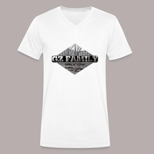 GZ FAMILY - Männer Bio-T-Shirt mit V-Ausschnitt von Stanley & Stella