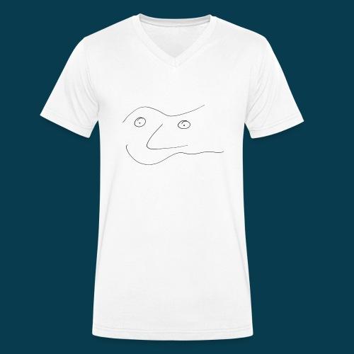 Chabisface Solala - Männer Bio-T-Shirt mit V-Ausschnitt von Stanley & Stella