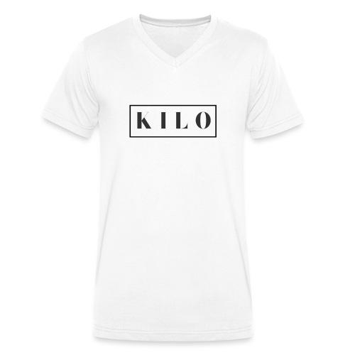 Mens K I L O - Men's Organic V-Neck T-Shirt by Stanley & Stella