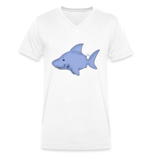 Hi Hai - Männer Bio-T-Shirt mit V-Ausschnitt von Stanley & Stella