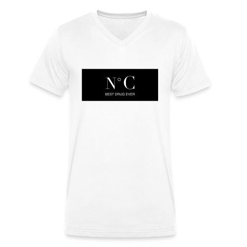 NUMERO C BEST DRUG EVER - T-shirt bio col V Stanley & Stella Homme