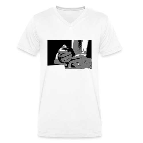 perception of reality - Männer Bio-T-Shirt mit V-Ausschnitt von Stanley & Stella