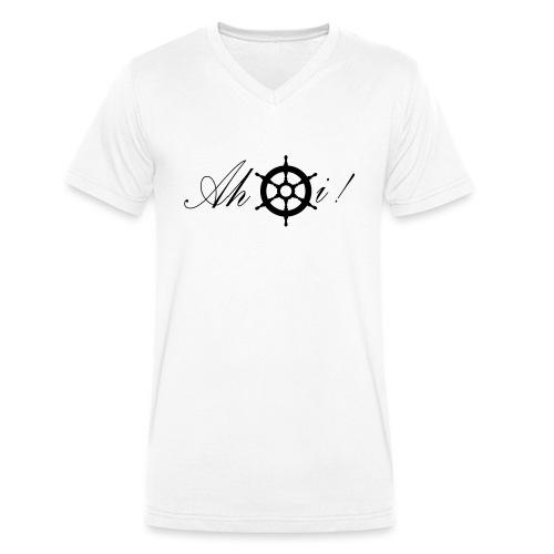 Ahoi - Männer Bio-T-Shirt mit V-Ausschnitt von Stanley & Stella