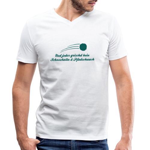 Pfadschaach - Männer Bio-T-Shirt mit V-Ausschnitt von Stanley & Stella