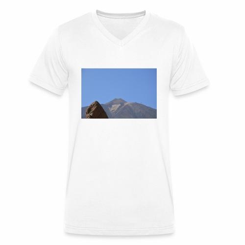 Teide - Teneriffa - Männer Bio-T-Shirt mit V-Ausschnitt von Stanley & Stella
