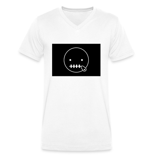 0001 - Männer Bio-T-Shirt mit V-Ausschnitt von Stanley & Stella