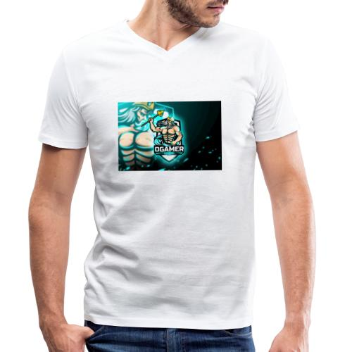 8251831F EA3A 4726 A475 A5510CDECB5A - Ekologisk T-shirt med V-ringning herr från Stanley & Stella