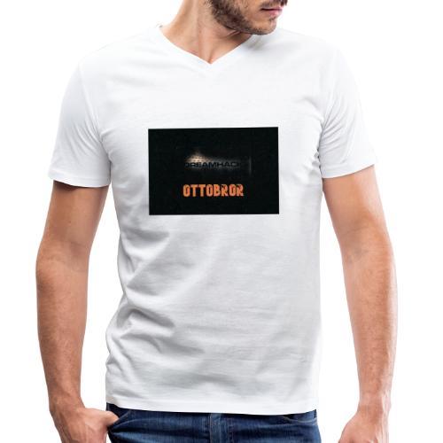 svart granit polerad - Ekologisk T-shirt med V-ringning herr från Stanley & Stella