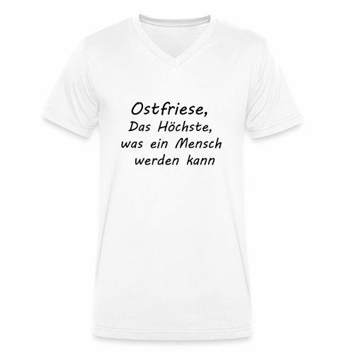 Herren - Ostfriese - Männer Bio-T-Shirt mit V-Ausschnitt von Stanley & Stella