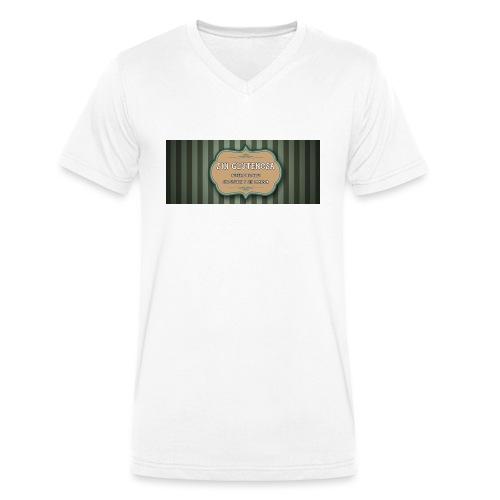 SINGLUTENOSA - Camiseta ecológica hombre con cuello de pico de Stanley & Stella