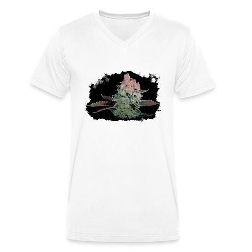 Pflänzchen png - Männer Bio-T-Shirt mit V-Ausschnitt von Stanley & Stella