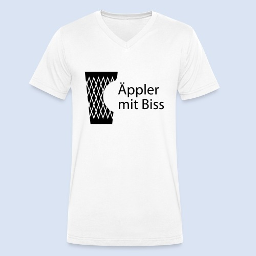 iGeripptes Hessen Motive - Männer Bio-T-Shirt mit V-Ausschnitt von Stanley & Stella