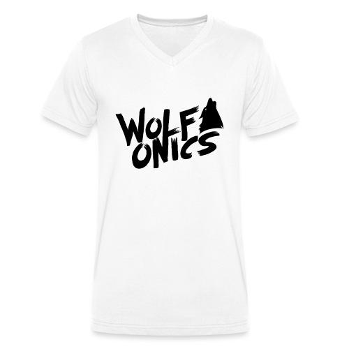 Wolfonics - Männer Bio-T-Shirt mit V-Ausschnitt von Stanley & Stella