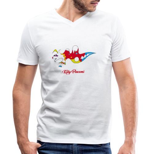 Killy Pincemi - T-shirt bio col V Stanley & Stella Homme