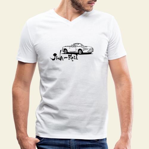 mx5 nb - Økologisk Stanley & Stella T-shirt med V-udskæring til herrer