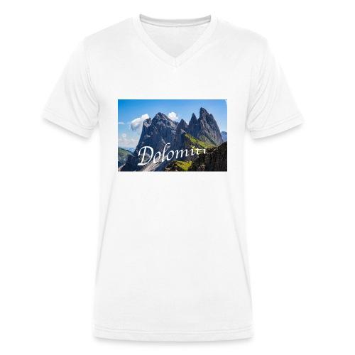 Dolomiti - Männer Bio-T-Shirt mit V-Ausschnitt von Stanley & Stella