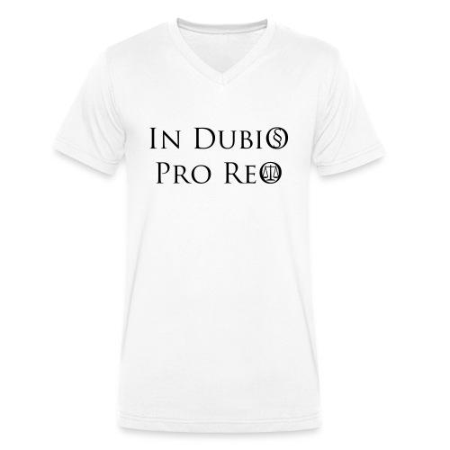 In Dubio pro Reo - Männer Bio-T-Shirt mit V-Ausschnitt von Stanley & Stella