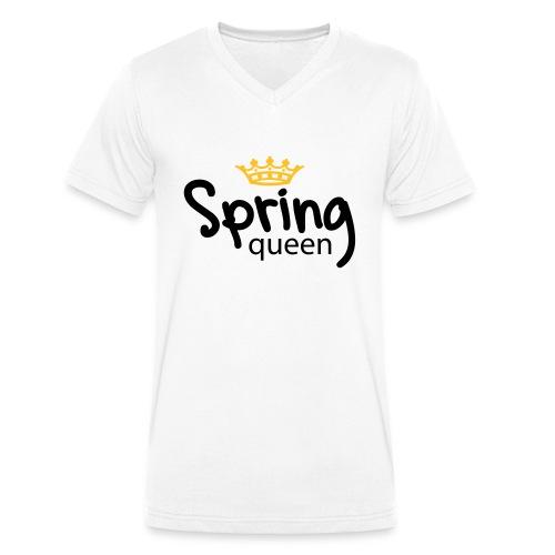 Springqueen - Männer Bio-T-Shirt mit V-Ausschnitt von Stanley & Stella