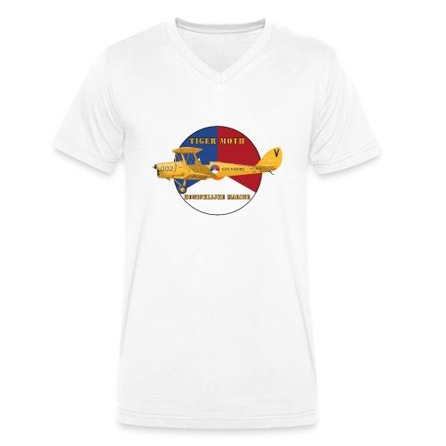 Tiger Moth Kon Marine - T-shirt bio col V Stanley & Stella Homme