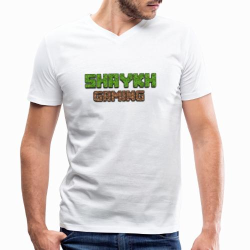 Shaykh Gaming Merch - Men's Organic V-Neck T-Shirt by Stanley & Stella