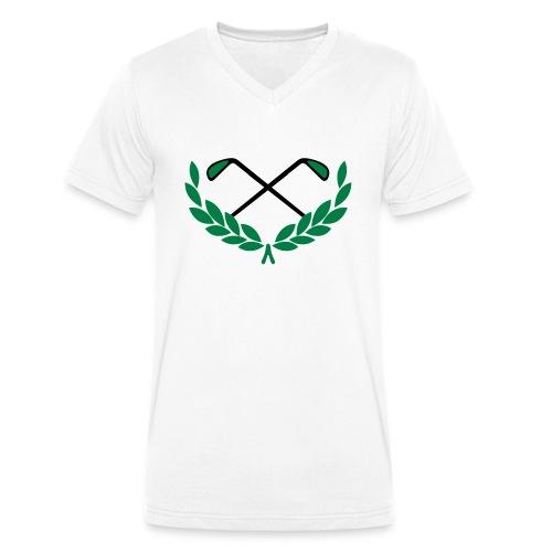 Golf - Männer Bio-T-Shirt mit V-Ausschnitt von Stanley & Stella