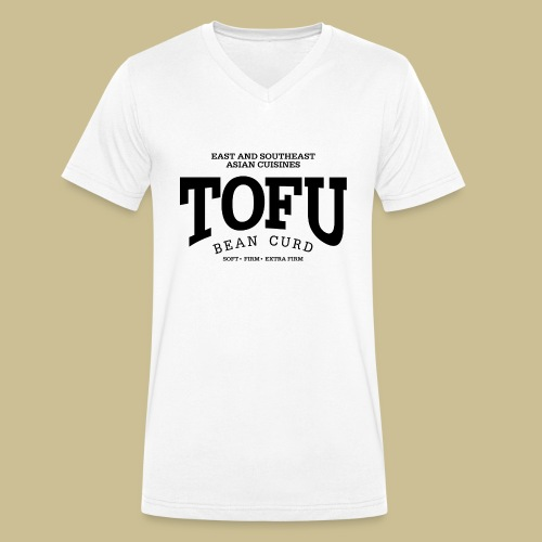 Tofu (black) - Männer Bio-T-Shirt mit V-Ausschnitt von Stanley & Stella