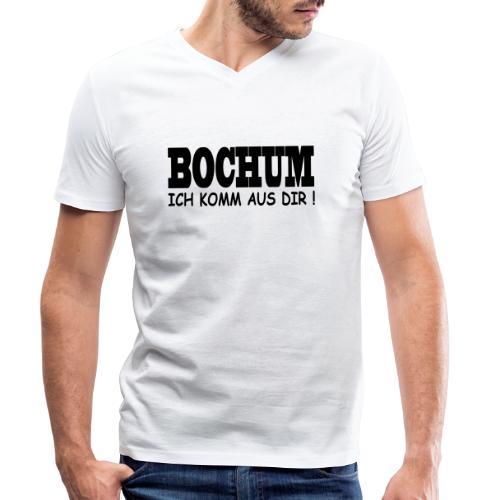 Bochum - Ich komm aus dir! - Männer Bio-T-Shirt mit V-Ausschnitt von Stanley & Stella