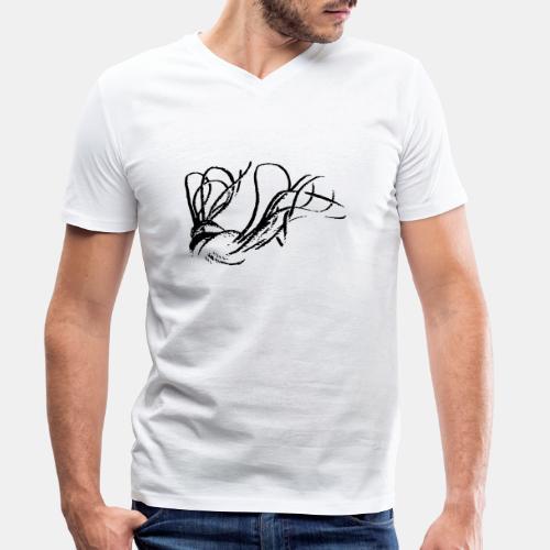 Rope Shibari - Männer Bio-T-Shirt mit V-Ausschnitt von Stanley & Stella
